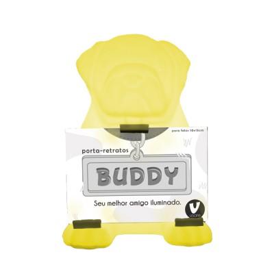 Luminária Cachorro Buddy Amarelo