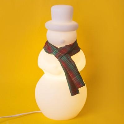 Luminária Boneco de neve