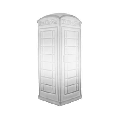 Luminária Cabine Telefônica Branca