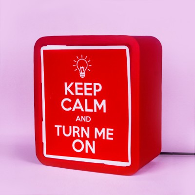 Lightbox Keep Calm