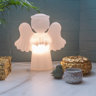 Luminária Anjinho da Guarda Branco