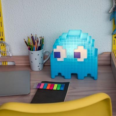 Luminária Fantasminha Pacman Azul - Inky