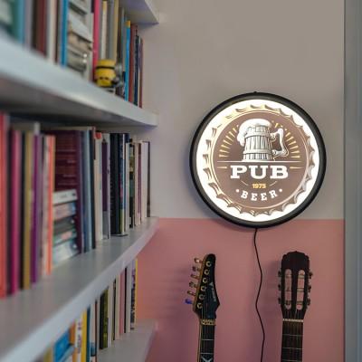 Luminária de parede Sign Pub