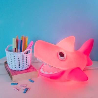 Luminária Tubarãozinho Rosa