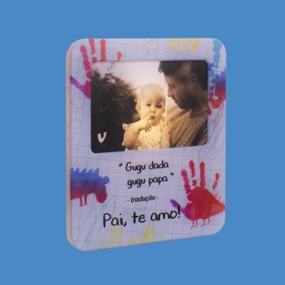 Luminária Porta Retrato Pai de Bebê
