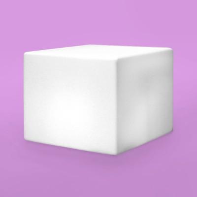 Banco Iluminado Box 55 com LED