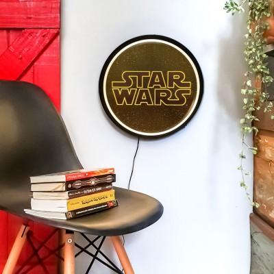 Luminária de Parede Sign Star Wars Logo