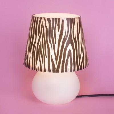 Abajur Micro Lampe Capa Zebra