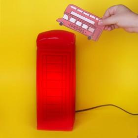 Luminária Cabine Telefônica