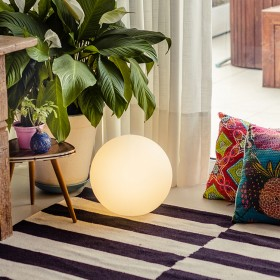 Luminária Esfera com LED