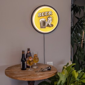 Luminária de parede Sign Beer