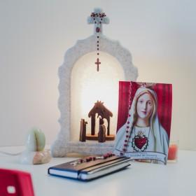 Oratório Iluminado Granito