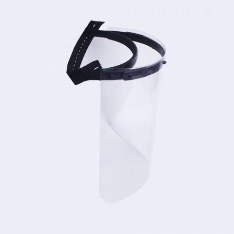 Face Shield Adulto-Preto