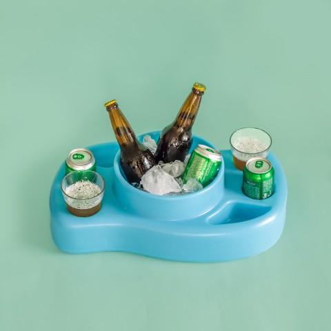 Bar Flutuante Aquabar Azul