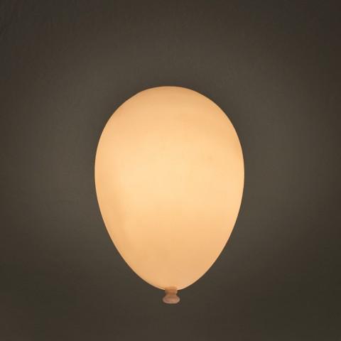 Luminária Plafon Balão Branco