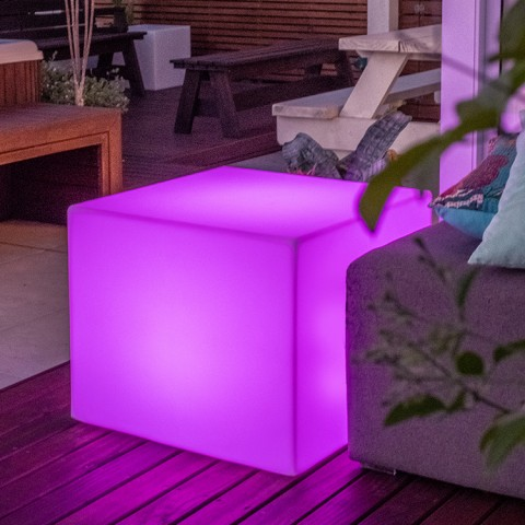 Banco Iluminado Box 55 com LED