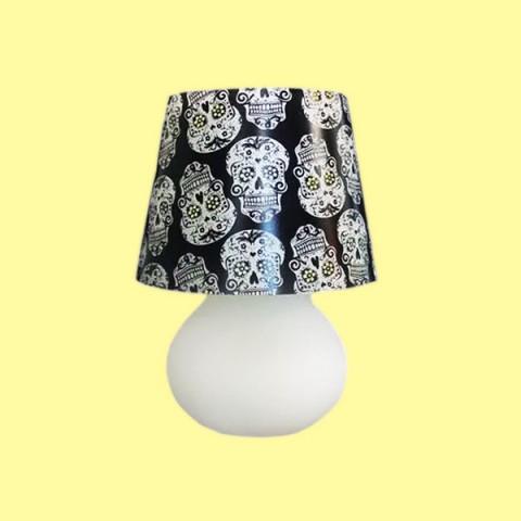 Abajur Micro Lampe Capa Caveira