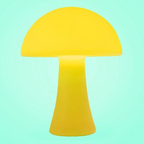 Luminária Mushroom Amarelo