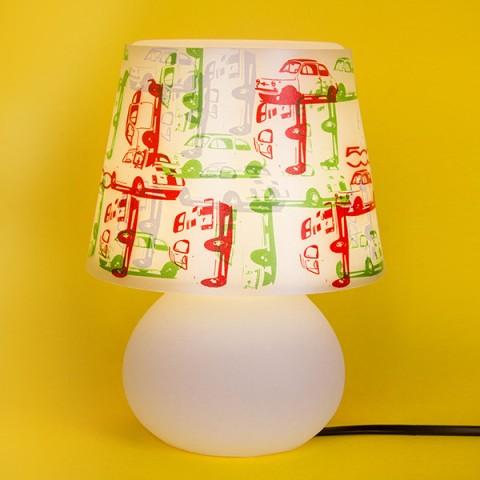 Abajur Micro Lampe Capa Fiat 500