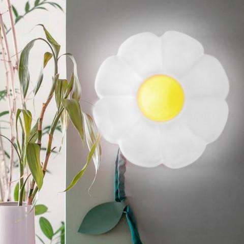 Luminária de parede Flor