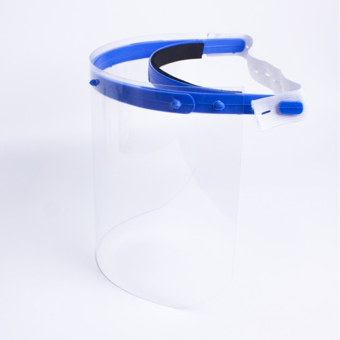 Face Shield Infantil-Azul