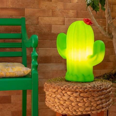 Luminária Cactus Flor
