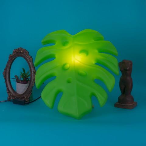 Luminária Costela de Adão