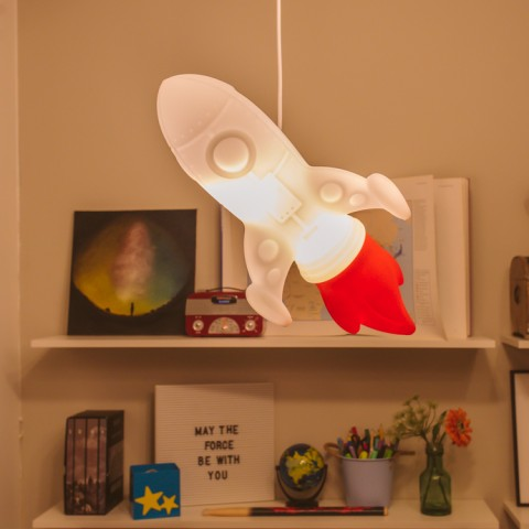 Luminária Pendente Foguete