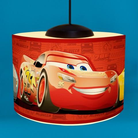Luminária Pendente Pop Carros Disney