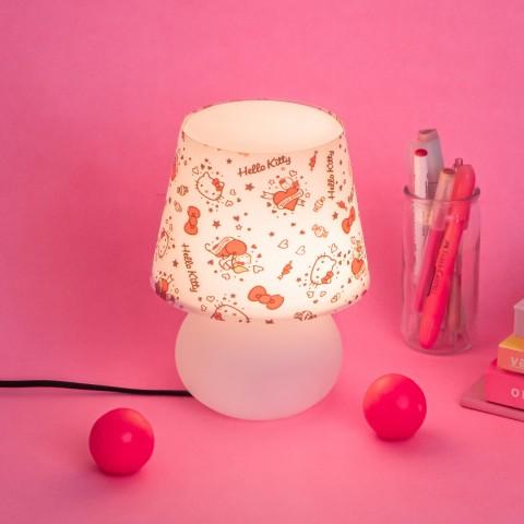 Abajur Micro Lampe Hello Kitty