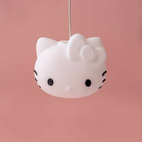 Luminária Pendente Hello Kitty