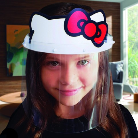 Face Shield Hello Kitty Infantil