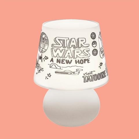 Abajur Micro Lampe Star Wars Doodles
