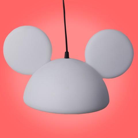 Pendente Aberto Orelhas Mickey Branco