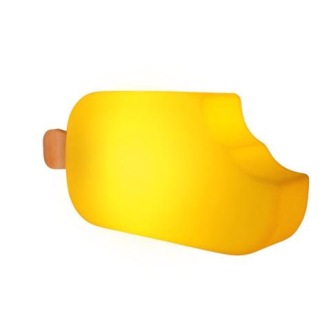 Luminária Picolé Amarelo