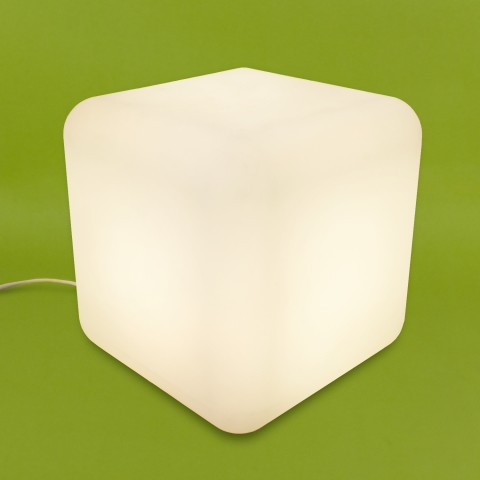 Puff Iluminado Cubo de Luz