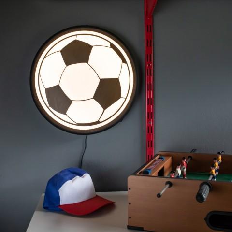 Luminária de parede Sign Bola de Futebol