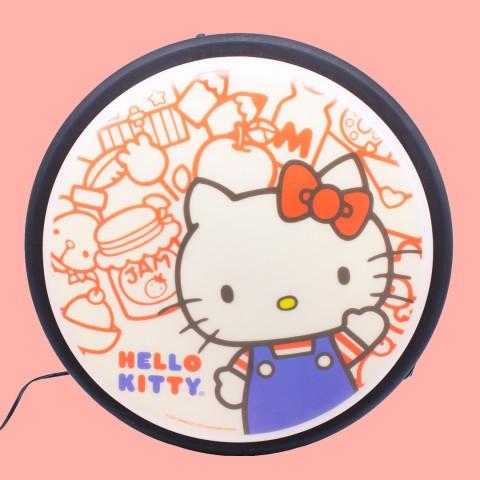 Luminária de Parede Sign Hello Kitty Vintage Pop