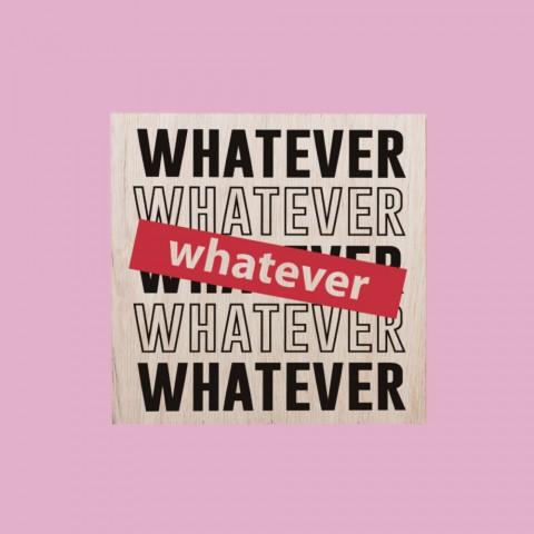 Quadrinho Whatever