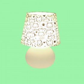 Abajur Micro Lampe Capa Gatos Luciano Martins