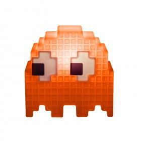 Luminária Fantasminha Pacman Laranja - Clyde