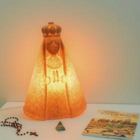 Luminária Nossa Senhora Madeira