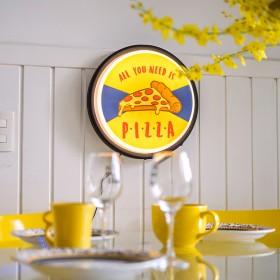 Luminária de parede Sign Pizza