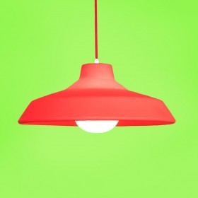 Luminária Pendente Sinuca Vermelha
